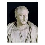 Busto de Marco Tullius Cicero Postal