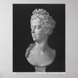 Busto de Marie-Adelaide de Saboya Poster