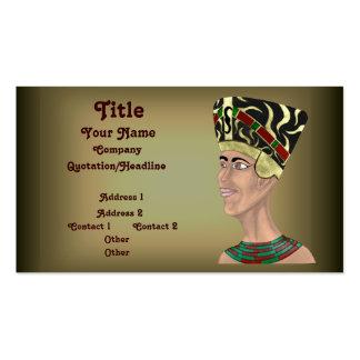 Busto de Nefertiti Tarjetas De Visita
