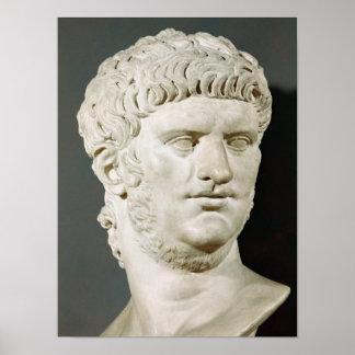 Busto de Nero Póster