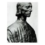 Busto de Niccolo Machiavelli Postales