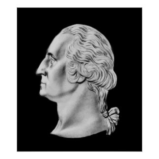 Busto de presidente Washington Impresiones