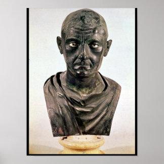 Busto de Publius Cornelio Scipio 'Africanus Posters