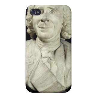 Busto de Rene Antoine Ferchault de Reaumur 1751 iPhone 4 Fundas