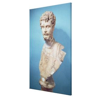 Busto de Septimus Severus Impresion En Lona