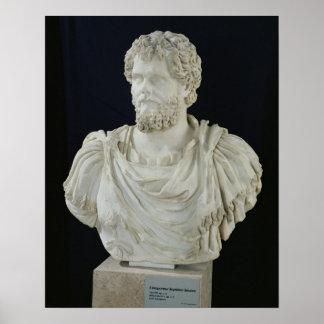 Busto de Septimus Severus Poster