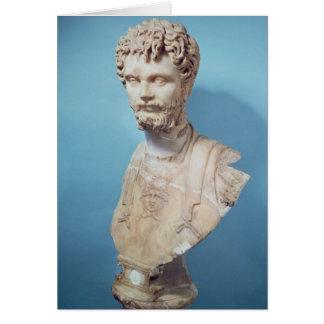 Busto de Septimus Severus Tarjetón