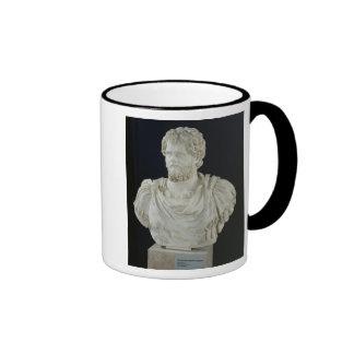 Busto de Septimus Severus Tazas De Café
