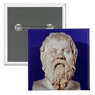 Busto de Sócrates Pins