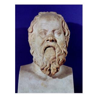 Busto de Sócrates Postales