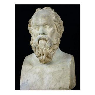 Busto de Sócrates Tarjeta Postal