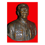 Busto de Stalin Tarjeta Postal