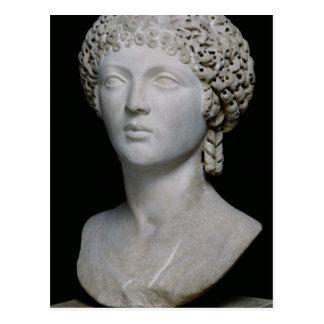 Busto de una mujer romana, posiblemente Poppaea Tarjetas Postales