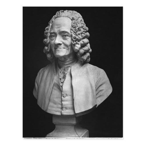 Busto de Voltaire Postales
