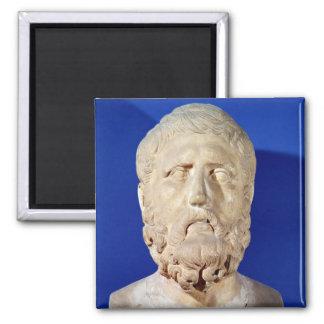 Busto de Zeno de Citium Imán Cuadrado
