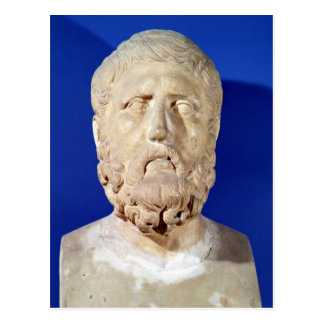 Busto de Zeno de Citium Postal