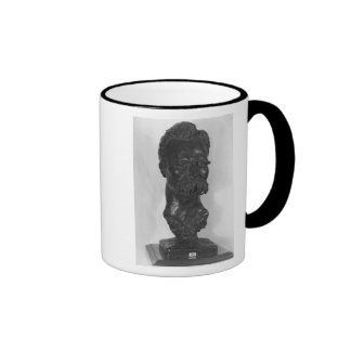 Busto del alemán de Friedrich Nietzsche Taza De Café
