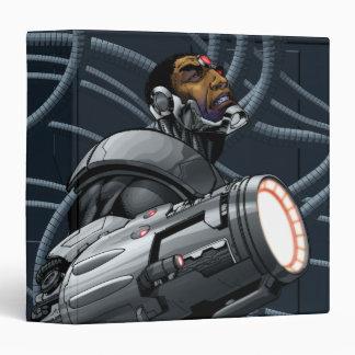 """Busto del Cyborg y del arma Carpeta 1 1/2"""""""
