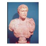 Busto del emperador Antoninus Pius Postales