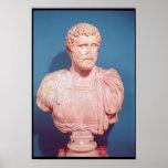 Busto del emperador Antoninus Pius Posters