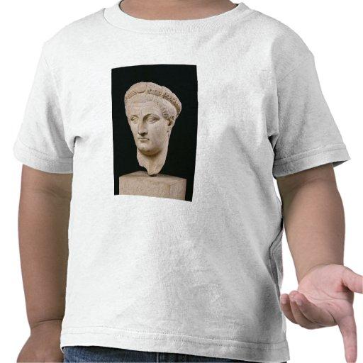Busto del emperador Claudius de Thasos Camisetas