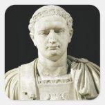 Busto del emperador Domitian Colcomanias Cuadradas