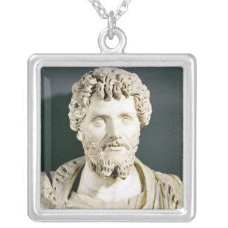Busto del emperador Septimus Severus Collar Personalizado