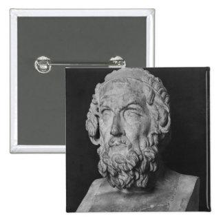 Busto del home run, período helenístico pin cuadrado
