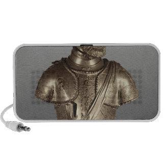 Busto del retrato iPod altavoz