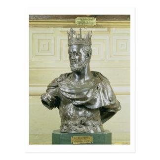 Busto del retrato de Cosimo I de Medici 1519-74 Tarjeta Postal