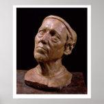 Busto del retrato de Girolamo Benivieni (cera) Posters