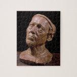 Busto del retrato de Girolamo Benivieni (cera) Rompecabezas Con Fotos
