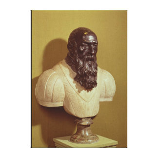 Busto del retrato de Jean de Bologna 1608 Impresiones En Lona