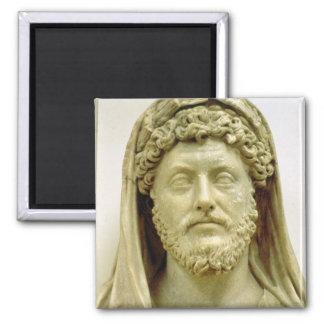 Busto del retrato de Marco Aurelius Iman De Nevera