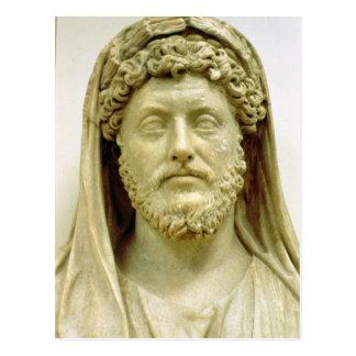 Busto del retrato de Marco Aurelius Tarjeta Postal