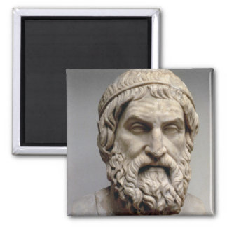 Busto del retrato de Sophocles Imán De Frigorífico