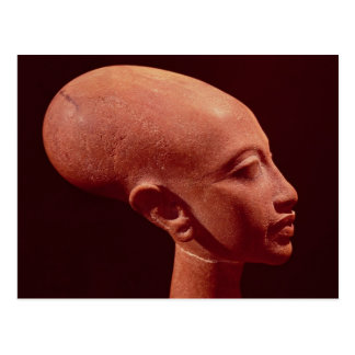 Busto del retrato de una hija de rey Akhenaten Postal