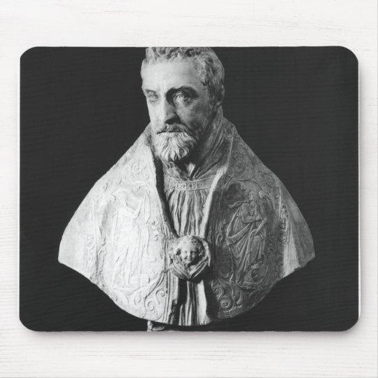Busto del retrato del d'Escoubleau de Francois Mousepads