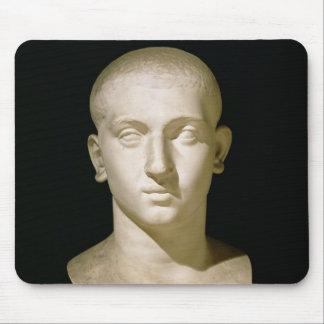 Busto del retrato del emperador Severus Alexander Alfombrillas De Ratón