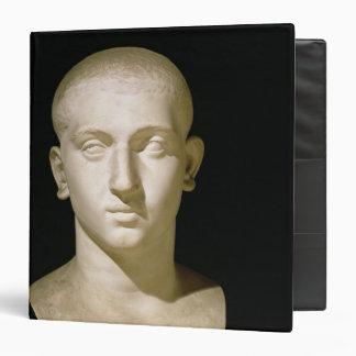 """Busto del retrato del emperador Severus Alexander Carpeta 1 1/2"""""""
