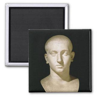 Busto del retrato del emperador Severus Alexander Imanes