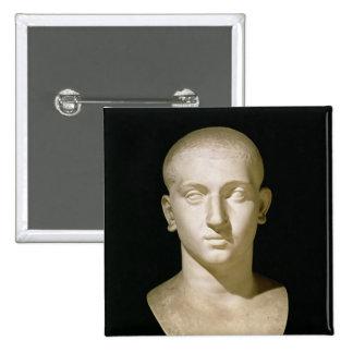 Busto del retrato del emperador Severus Alexander Pin Cuadrado