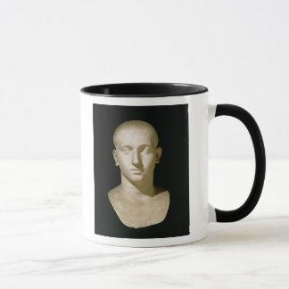 Busto del retrato del emperador Severus Alexander Taza