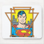 Busto del superhombre mouse pad