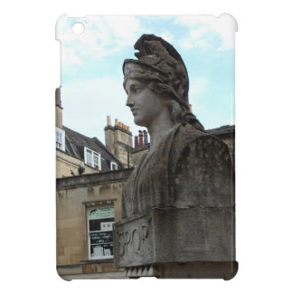 Busto en el balneario romano, baño, Inglaterra