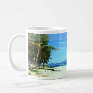Busuanga - paraíso de la isla taza básica blanca