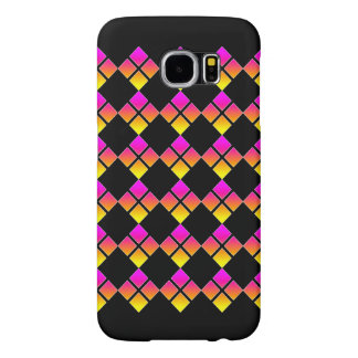 Busy 4 Square Diamond Samsung Galaxy S6 Case