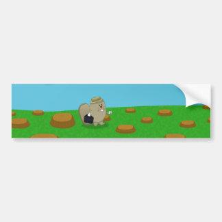 Busy as a beaver bumper sticker