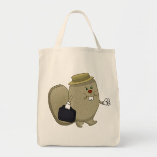 Busy as a beaver tote bag