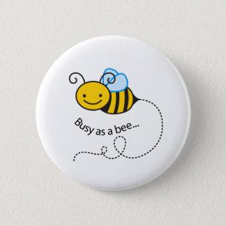 Busy as a  bee button